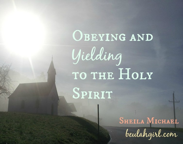 obeying the holy spirit