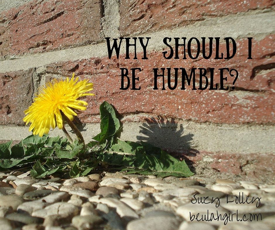 Why Should I Be Humble_