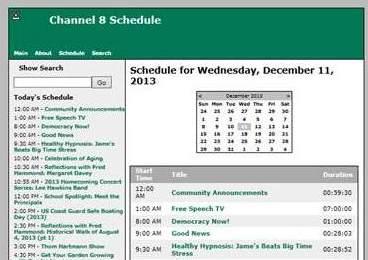 BevCam Website Schedule rev1