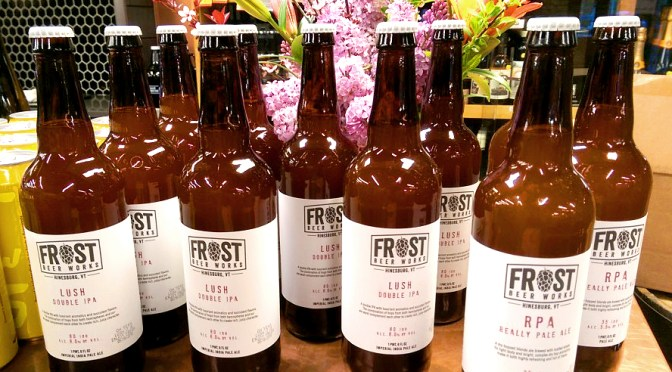Frost Beer Works Lush | Frost Beer Works Really Pale Ale