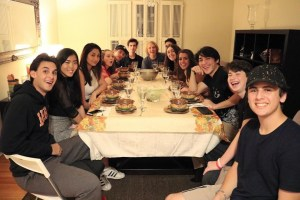 """This year was my first year celebrating Friendsgiving, usually I just spend time with family and only family. I was fortunate enough to spend time with so many of my close friends and it was incredible. This was one of the greatest nights ever because I was able to connect with all my close friends, and become closer,"" junior Ben Gold said."