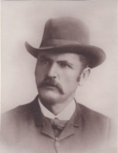 Grandfather Harvey Depew Scot as a young man before he abandoned Harriet.