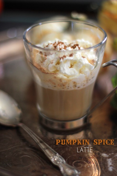 Pumpkin Spice Latte | Be What We Love recipe