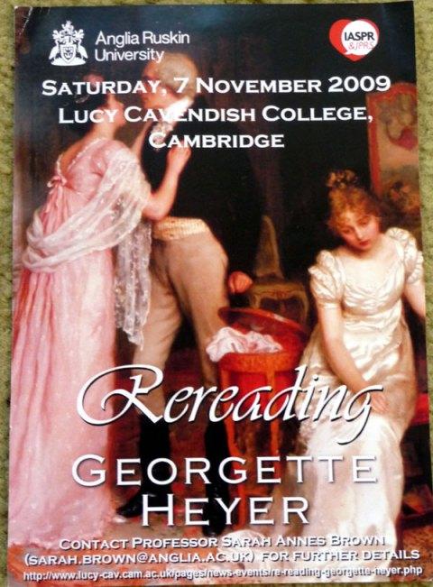 Flyer, Georgette Heyer Conference