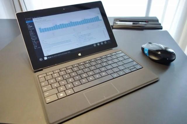 Surface2 タッチカバー2英語キーボード、100ドルで買って輸入した