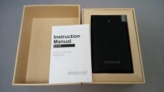 【極薄モバイルバッテリー】dodocool PowerBank 2500mAh MicroUSB 開封の儀 レビュー + 30%オフクーポンあるヨ