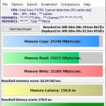 【自作パソコン+中華パッド4台】Windows10機メモリ・ベンチマーク計測 MaxxMEM2の結果