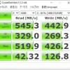 【自作パソコン+中華パッド4台】CrystalDiskMarkの結果 Windows10 Cドライブ