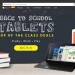 【GearBest】Back To School Tablets セール