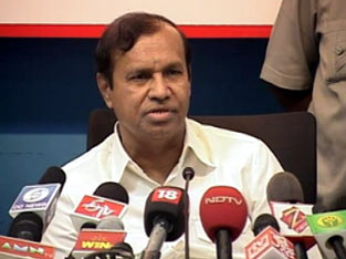 TR Balu addressing the media (file photo)
