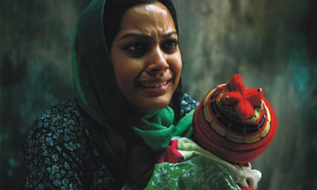 A scene from Parzania - Indian film based on Gujarat riot 2002