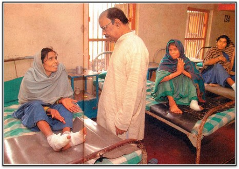 Remembering the Messiah of Leprosy Sufferers