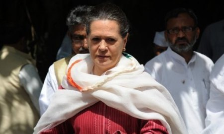 Sonia Gandhi had an operation in the United States (File photo: AFP)