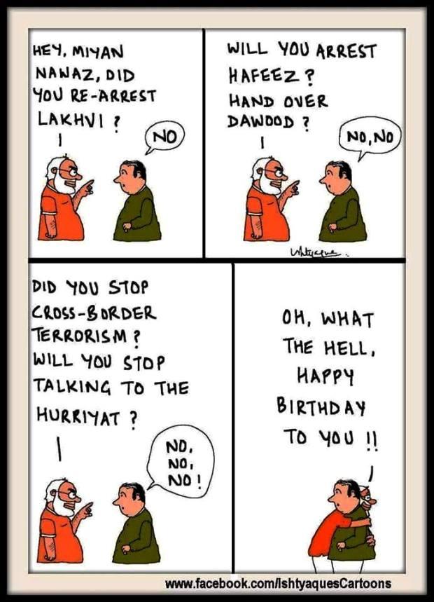 Modi-Nawaj B`Day Bash (1)