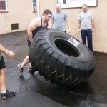 Isaac Flipping Tire UGSC Cert