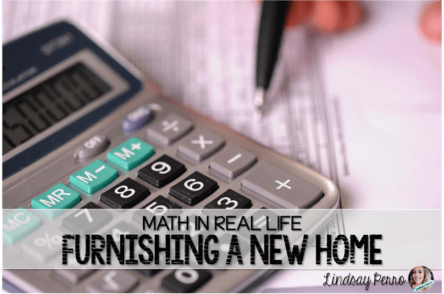 Math in Real Life – Furnishing A New Home