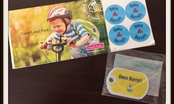 Mabel's Labels: Camp Label Pack #Review