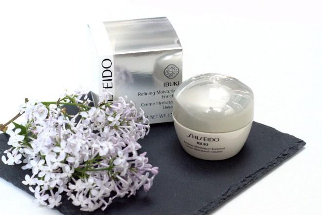 Bezaubernde Nana, bezauberndenana.de, Fashionblog, Beautyblog, Mai Favoriten, 2016, Shiseido Ibuki Serie, Shiseido Ibuki Refining Moisturizer Enriched Creme, Gesichtspflege