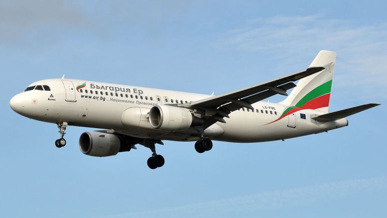 българия ер самолет
