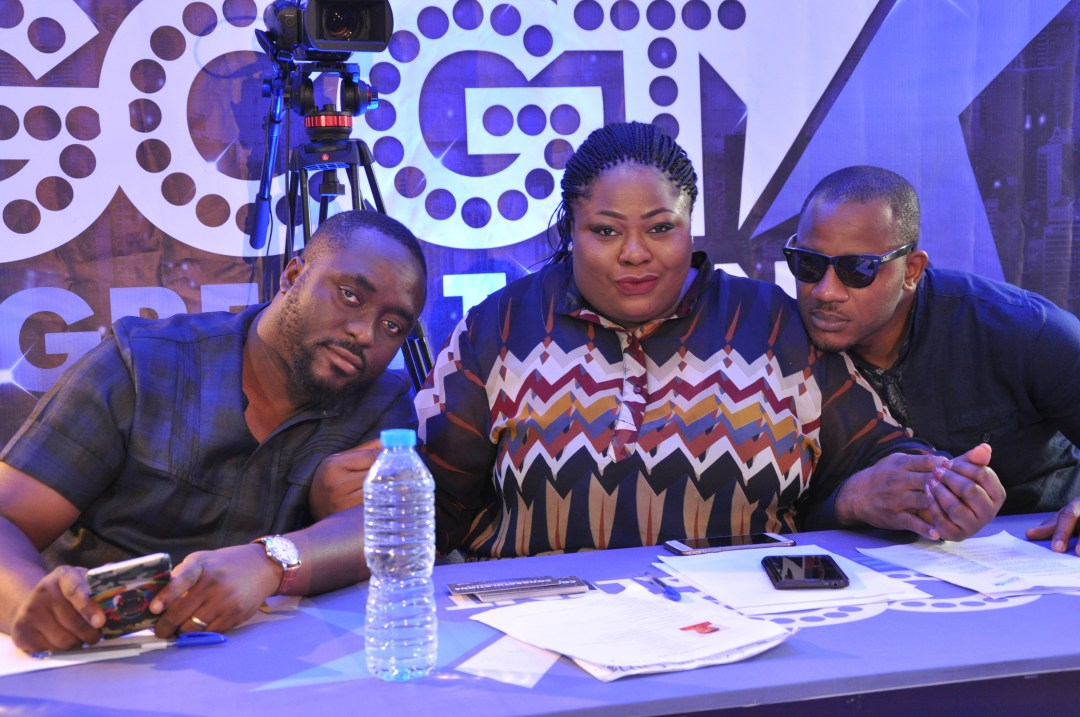 L-R Mekoyo Emeka, Matilda Duncan & Big Mo