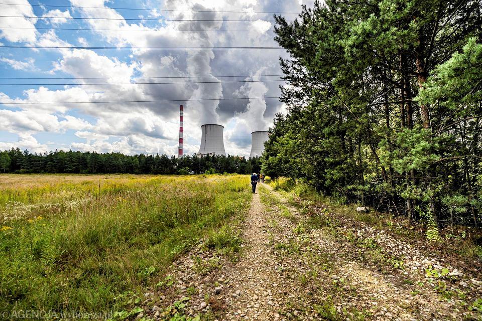 Teren w Jaworznie, na którym ma powstać fabryka samochodów elektrycznych Izera