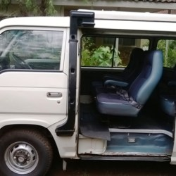 Nissan E24D minibus for sale – in very good condition