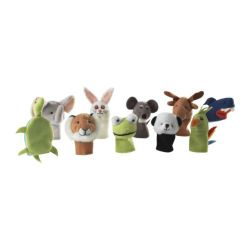 IKEA Assorted Finger Puppets