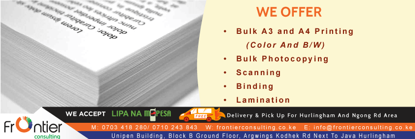 Bulk Printing Color Bw A3 Photocopy Scanning