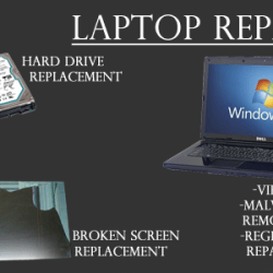 We offer Laptop Upgrade and Repair Services