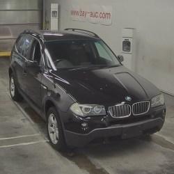BMW X3 2500 Cc Petrol Engine 2009/Feb Black Colour Automatic