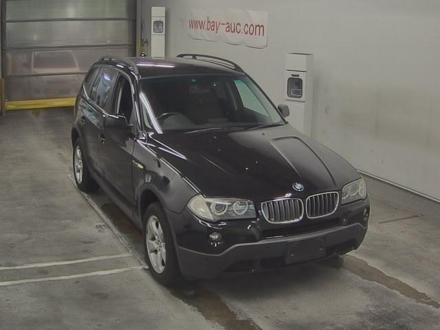 BMW X3 2500 Cc Petrol Engine 2009 Feb Black Colour Automatic