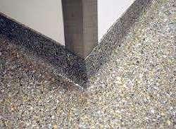 Epoxy gravel