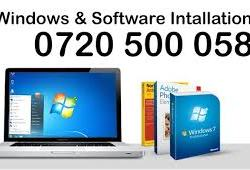 Windows 10 installation 0720500058 in Nairobi Kenya