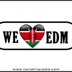 we love kenya edm banner