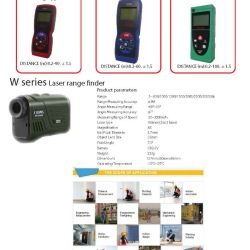 Laser operated distance meters range finders 2018