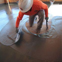 concrete waterproofing surface applied