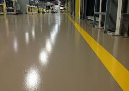 Polyurethane floor
