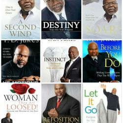 T.D JAKES BOOKS Available