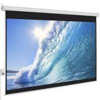 Elecrtic projection screen 120'