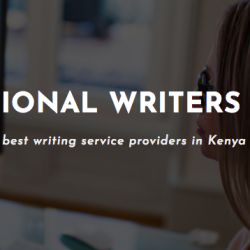 Professional Writers Kenya