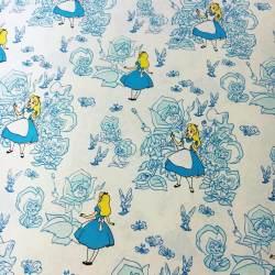 Small Of Alice In Wonderland Fabric