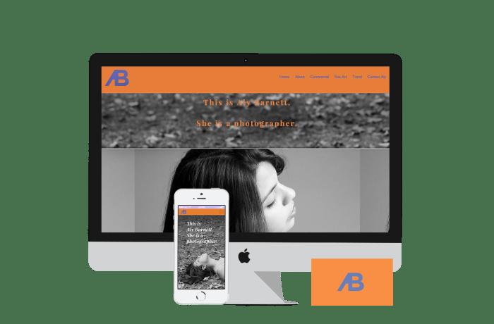 Aly Barnett's Portfolio Site