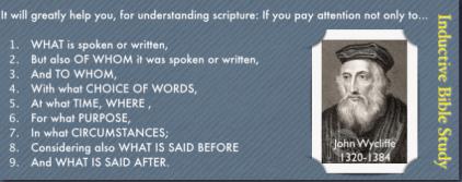 Focus bible foundations key