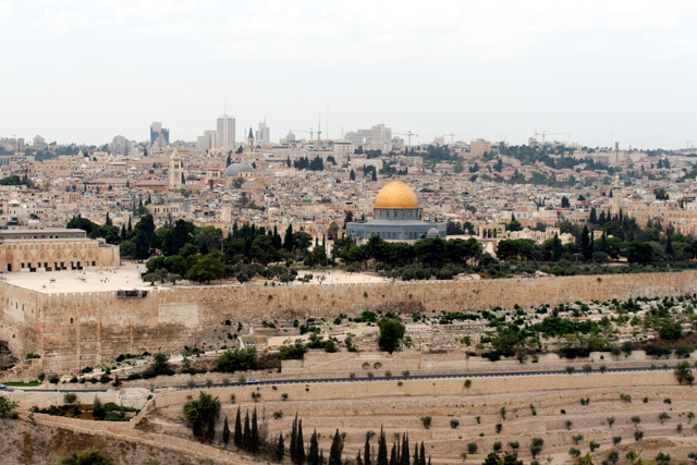 Jerusalem From The Mount Of Olives