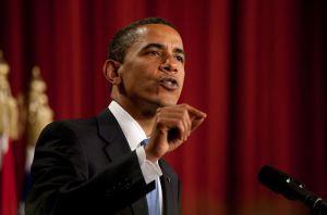 President Obama speaking to Muslims