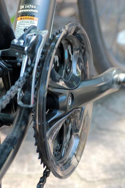 自転車のクランクとBBを交換すると?