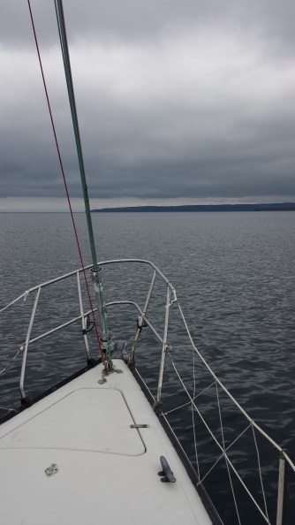 My uncle took us sailing in Conception Bay South