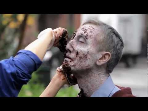 http://putzombiesback.comCould zombies live among us? We transformed a few New Yorkers to find out.