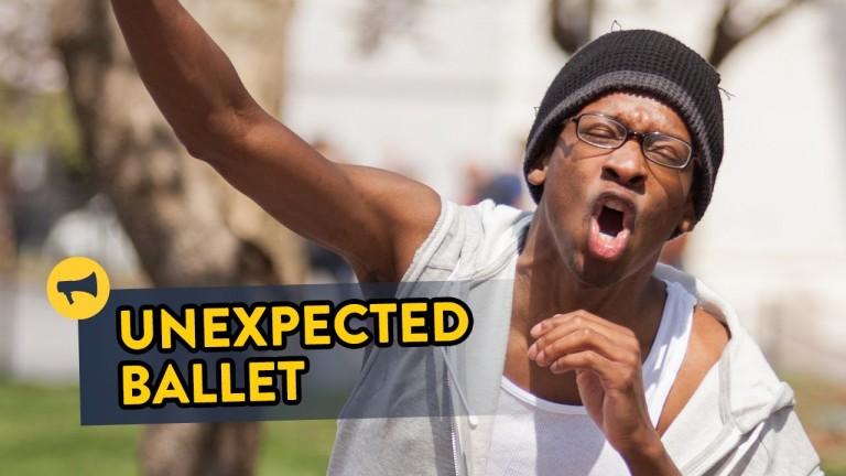 BREAK DANCERS DO BALLET?