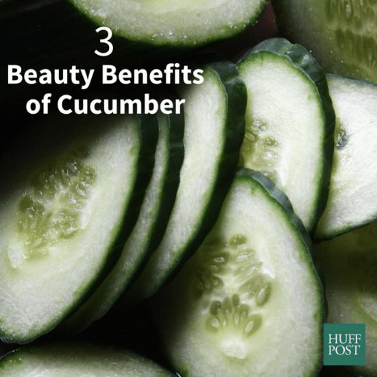 beauty benefits of cucumber